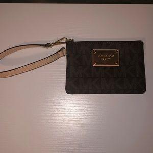 Michael Kors change purse wristlet